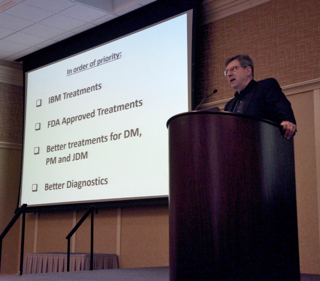"Bob Goldberg, Executive Director ""The Myositis Association"" (TMA)"