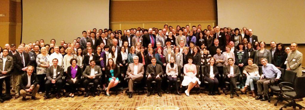 Alle Kongress-Teilnehmer im Franklin BallRoom