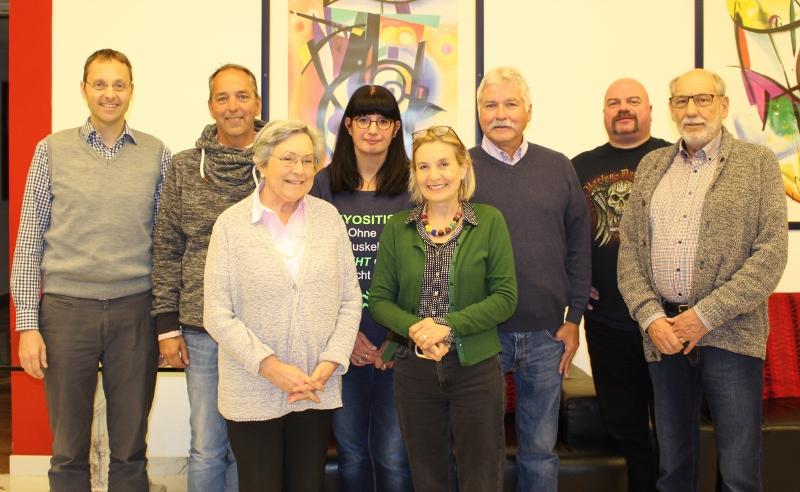 v.l.n.r.hinten: Prof. J. Schmidt, M. Jehne, S. Schlüter, R. Mischke, T. Schlüter. K. Tack, vorne: T. Weiss, A. Andrae