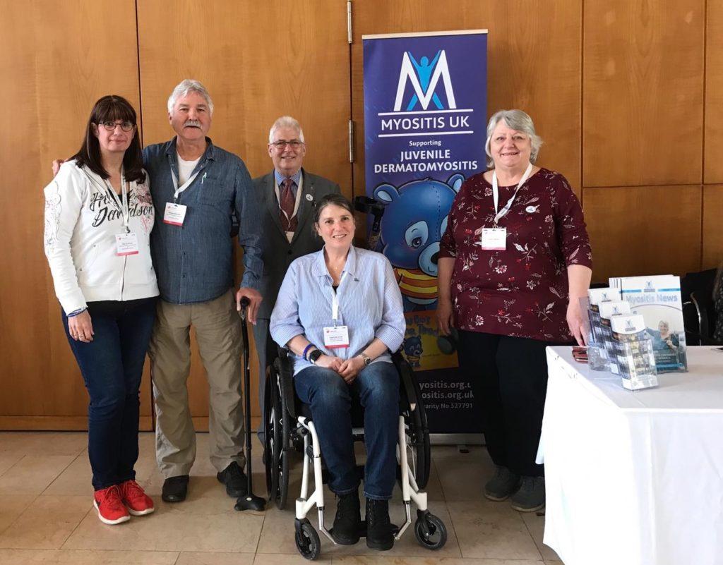 Myositispatientengruppen aus: England, Niederlande, Detuschland