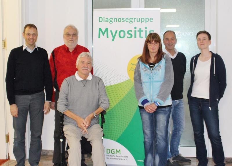 von links nach rechts: J. Schmidt, H. Winkelhaus, S.Schlüter, M. Jehne, J. Diedrich, vorne: R. Mischke (nicht auf dem Bild: T. Schlüter)