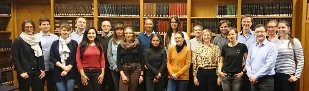 Von links nach rechts: J. Zschüntzsch, T. Ruck, D. Lemmer, T. Hagenacker, R. Hasseli, K. Schmidt, S. Schlüter, S. Zechel, J. Schmidt, D. Cengiz, A. Rosenbohm, C. Seitz, J. Reimann, A. Schänzer, I. Tarner, K. Hahn, W. Stenzel, E. Feist, U. Schara, C. Preuße (nicht auf dem Foto: U. Schneider, M. Graf, T. Rose)